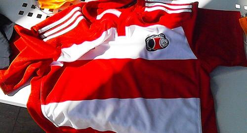 La maglia dell'Amatori Catania