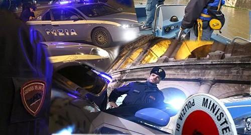 L'attività della Polizia di Stato (Ph. pagina Fb)