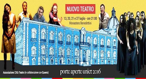 """La rassegna """"Nuovo Teatro"""""""