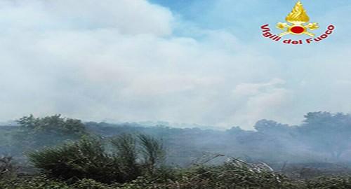 Incendio Parco dell'Etna
