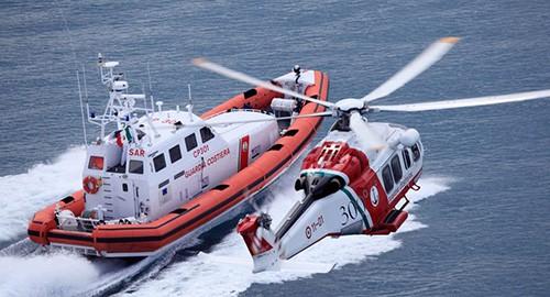Guardia Costiera in azione