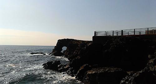 Il mare alla Scogliera di Catania