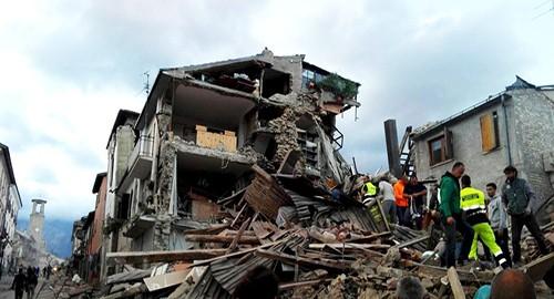 I danni del terremoto