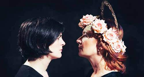 Nella foto Egle Doria e Francesca Vitale
