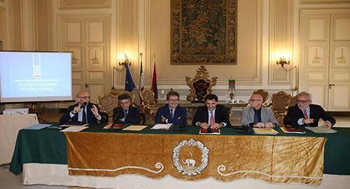 La conferenza stampa di stamattina (Foto Antonio Parrinello)