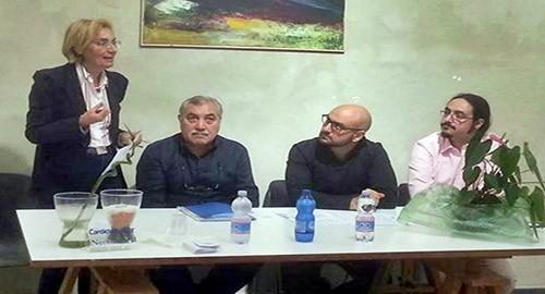 Nella foto da sinistra, Seminara, Nicotra, Testaì e Sciacca