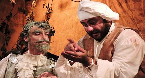 Nella foto in scena Valerio Santi e Francesco Russo