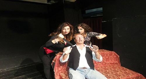 Nella foto Gaetano Lembo, Giulia Di Bella (destra) e Francesca A.M. Caruso (sinistra)