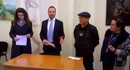 Prorogata al primo maggio al museo emilio greco di for Tito d emilio arredamenti catania