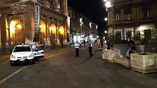 Centro storico controlli intensificati nel fine settimana for Ufficio decoro urbano catania