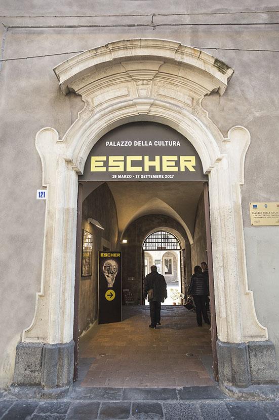 Mostra escher cronaca oggi quotidiano for Escher mostra catania